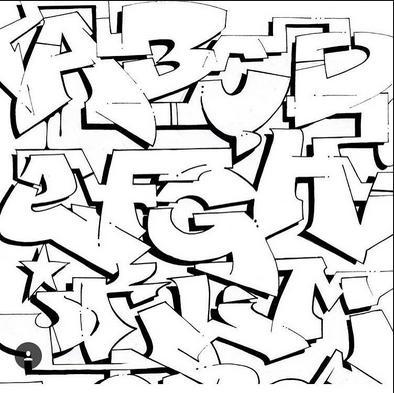 4600 Gambar Grafiti Keren Huruf A HD Terbaru