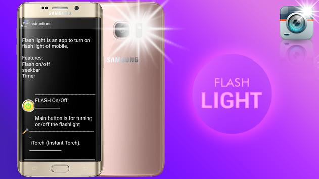 Flashlight Torch x – FREE Emergency Torch Light apk screenshot
