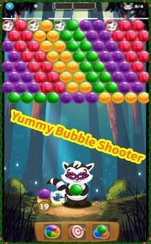 Yummy Bubble Shooter poster