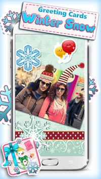 Greeting Cards Winter Snow poster