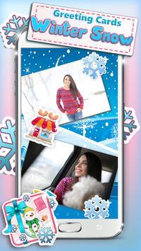 Greeting Cards Winter Snow apk screenshot
