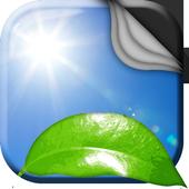 Green Leaf Live Wallpaper icon