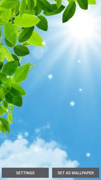 Green Leaf Live Wallpaper poster