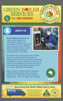 GreenBoiler Services apk screenshot