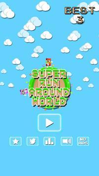 Super Run Around World poster