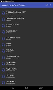Greensboro NC Radio Stations apk screenshot