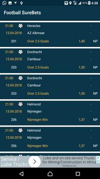 Football SureBets screenshot 1