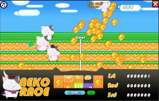 Neko Race apk screenshot