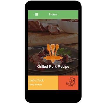 Grilled Pork Recipes poster