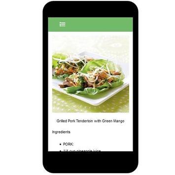 Grilled Pork Recipes screenshot 2