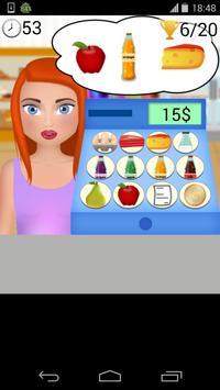 Grocery Shopping Cashier game screenshot 2