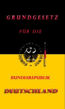 GRUNDGESETZ Der Deutschland GG poster