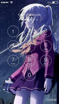 Best Anime PIN Lock Screen apk screenshot