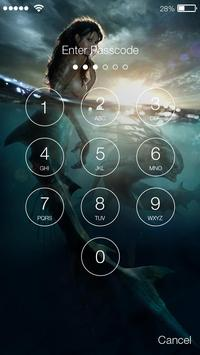 Mermaid Fantasy PIN Lock apk screenshot