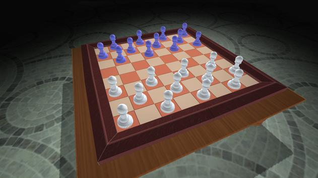 Checkers : Checkers 3D Board Strategic Game Free screenshot 1