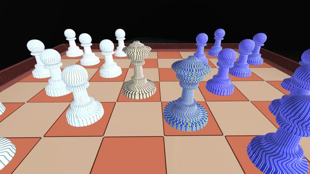 Checkers : Checkers 3D Board Strategic Game Free screenshot 2