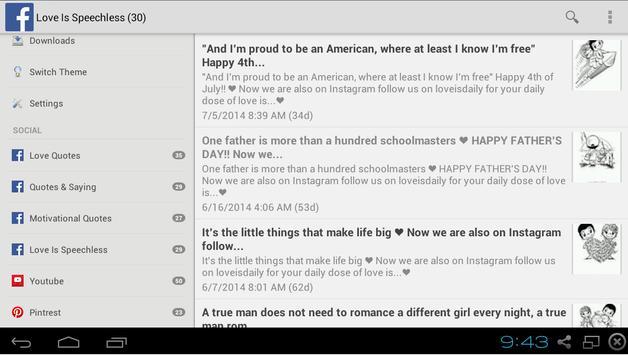 Daily Love Quotes apk screenshot
