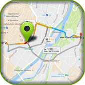 GPS Route Finder Exact icon