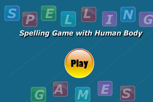 Human Body Spelling Game screenshot 1