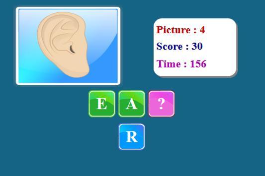 Human Body Spelling Game screenshot 3