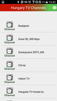 Watch Hungary TV Live apk screenshot