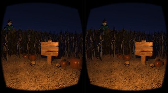Halloween Corn Maze VR screenshot 1