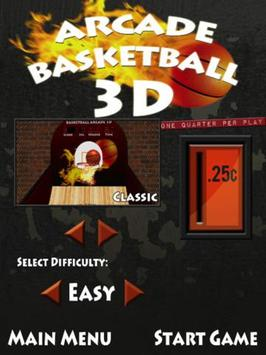 Arcade Basketball 3D Lite apk screenshot