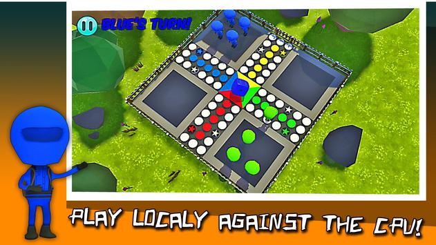 Ludo Classic 3D Board King 2018 screenshot 5