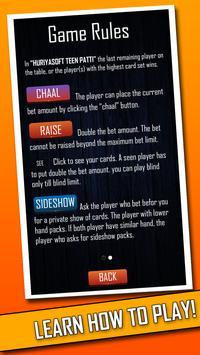 Teen Patti Clubs HD | Live indian poker screenshot 7