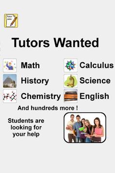 Tutor Jobs poster