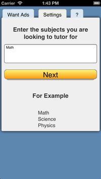 Tutor Jobs screenshot 1
