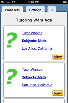 Tutor Jobs screenshot 3