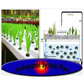 Hydroponic System Plans poster