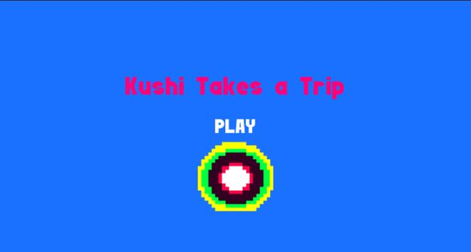 Kushi takes a trip poster