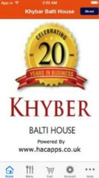 khyber Balti House poster
