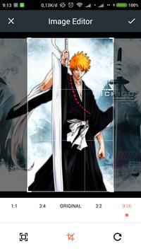 HD Ichigo Kurosaki Wallpaper screenshot 2