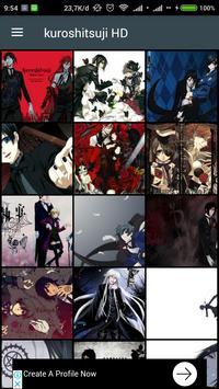 HD Kuroshitsuji (Black Butler) Wallpaper poster