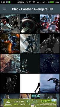 Black Panther HD Wallpapers apk screenshot