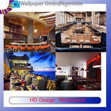 HD Design  Restaurant poster