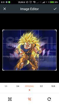 HD Goku Wallpaper screenshot 1