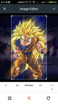 HD Goku Wallpaper screenshot 2