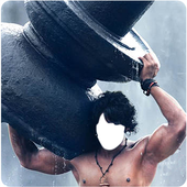 Photo frame for bahubali fan icon