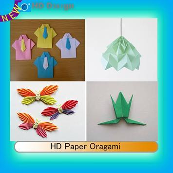 HD Paper Oragami poster