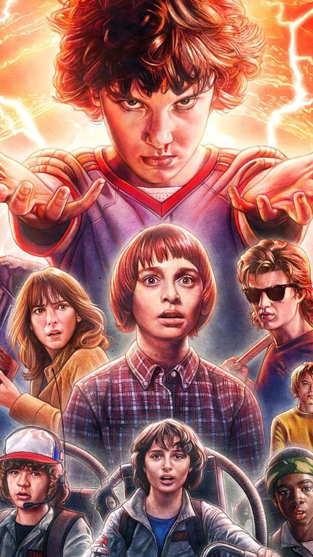 Hd Wallpaper Stranger Things 2 Wallpaper For Android Apk Download