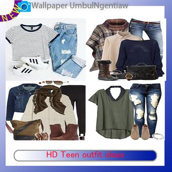 HD Teen outfit ideas poster