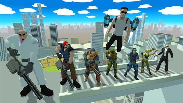 Grand Crime Gangsta Vice Miami Cartaz