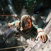 Ninja Samurai Assassin Hero IV Medieval Thief ícone