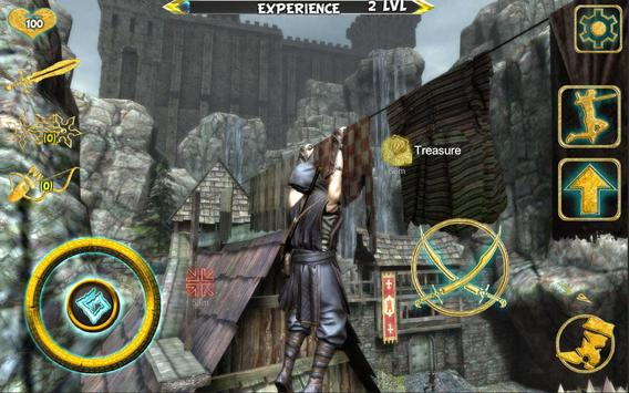 Ninja Samurai Assassin Hero IV Medieval Thief imagem de tela 23
