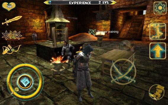 Ninja Samurai Assassin Hero IV Medieval Thief imagem de tela 3