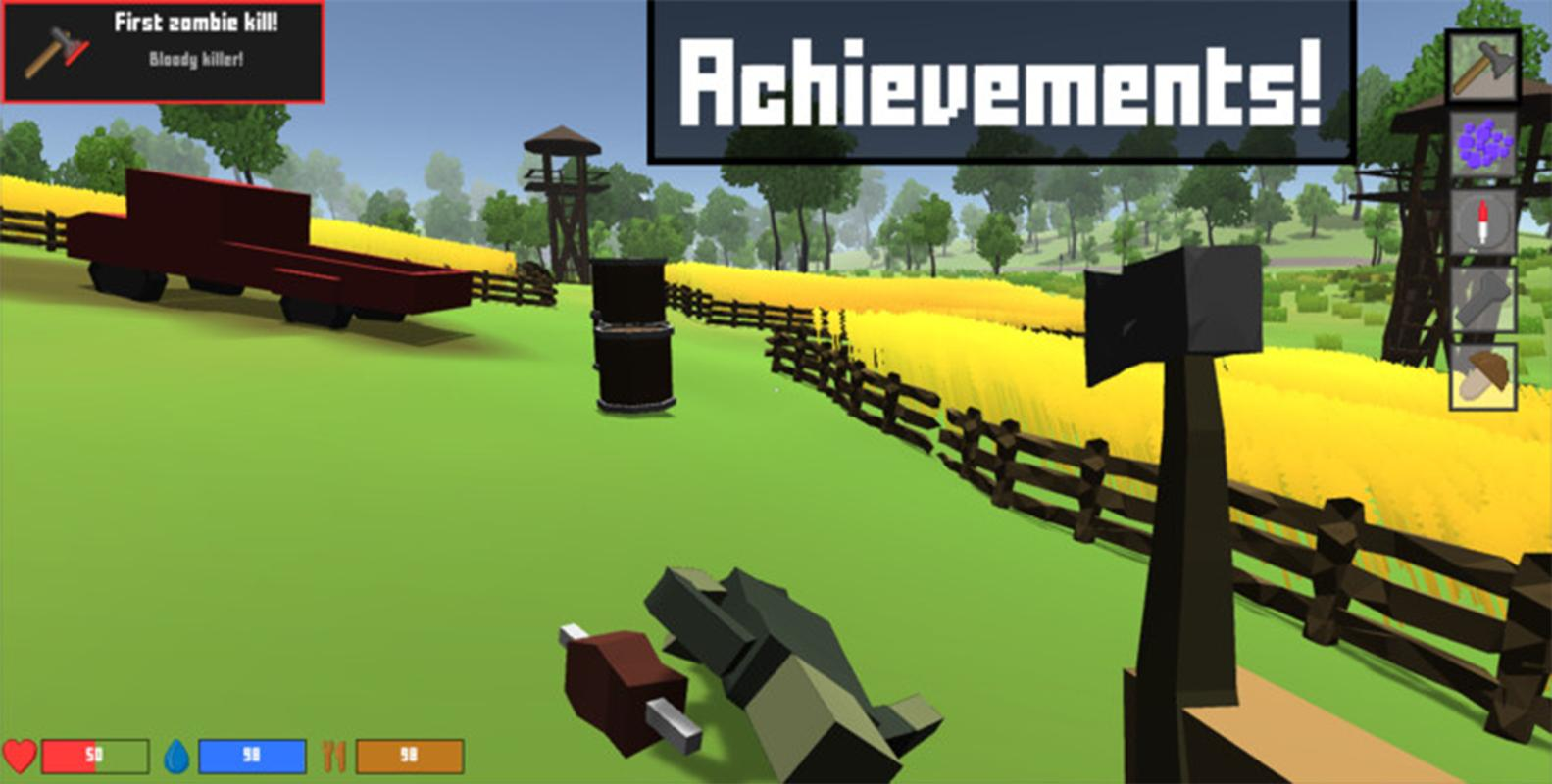 Pixel Block Survival Craft for Android - APK Download